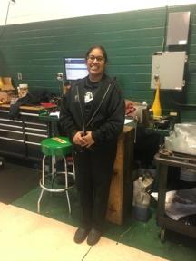 Diana, Automotive Technician