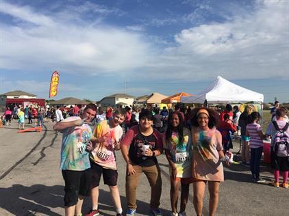 Hutto Middle School Color Run