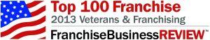 Franchise Business Review Top 100 Franchise 2013 Veterans & Franchising