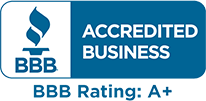 bbb A+ award/logo