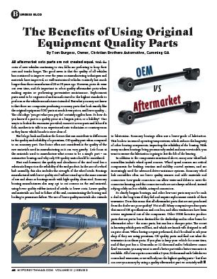 benefits of original parts article