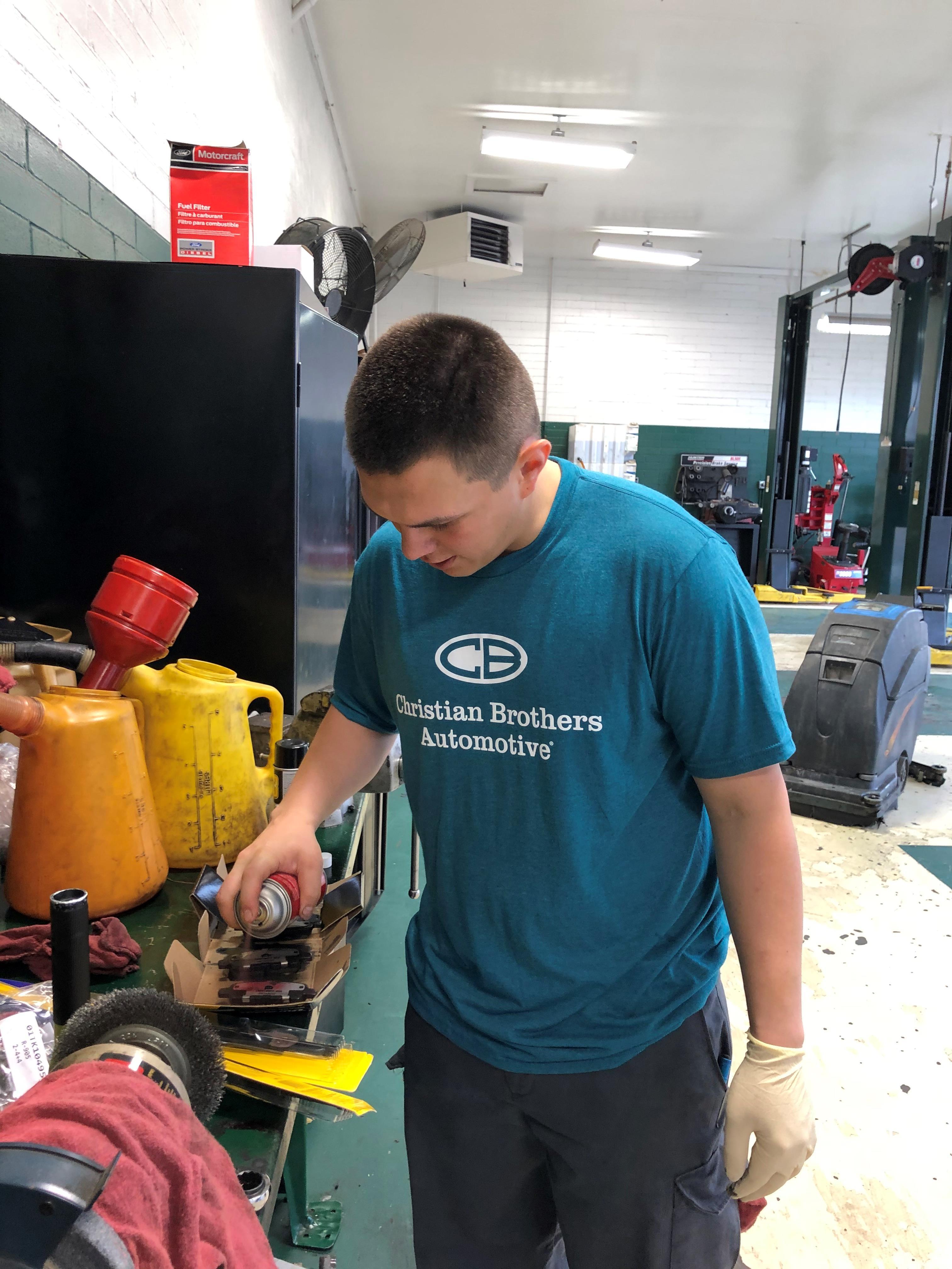 technician in shop